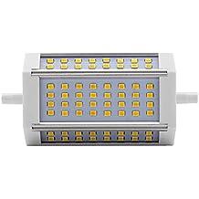 ALOTOA R7S Bombilla LED, regulable, de alta luminosidad, 3000LM 6000k luz blanca fría, 2835 SMD, no parpadeo, 118mm doble terminado, lámpara de base de reemplazo de reemplazo de lámpara de halógeno de tungsteno R7S(30w, cool white) …