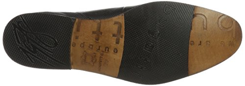 Bugatti 312294011010, Derby Homme Noir (Black/ Blue)
