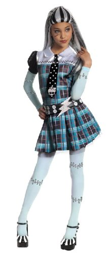 Frankie Kostüm Monster Stein High - Karneval Kinder Kostüm Monster High Frankie Stein Fasching Gr.M