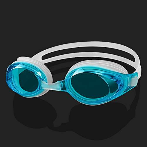 GYWY Schwimmbrille Erwachsene, Klarem Objektiv Schwimmbrille Ohne Leakage Wasserdichter Antibeschlag UV Schutz Triathlon Schwimmbrille für Männer Frauen,G