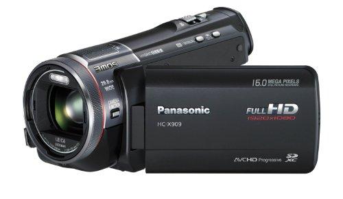 Panasonic HC-X909EG-K Full-HD Camcorder (8,8 cm (3,4 Zoll) Display, 12-fach opt. Zoom, 3MOS System Pro, Leica Objektiv, 29,8mm Weitwinkel, 3D-Option) schwarz - 4