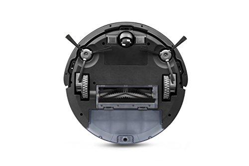 41EYn6%2BveLL [Bon Plan Ecovacs] ECOVACS DEEBOT 600 - Aspirateur robot nettoyeur - Pour sols durs et tapis - Aspirateur sans fil programmable via smartphone et compatible avec Amazon Alexa