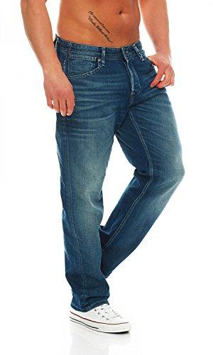 "Jack & Jones Herren Jeans ""Boxy Dash JJ 005"" Loose Fit Blue"