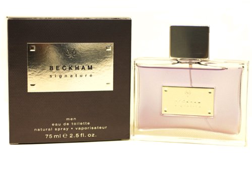 David Beckham Beckham Signature Him Eau de Toilette, Uomo, 75 ml