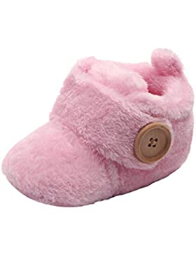 Lenfesh Baby Winter Warme Soft Sohle Schuhe Antischlupf Krippe Schuhe