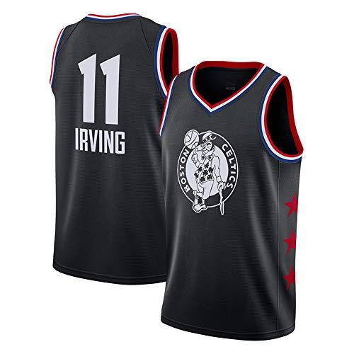 Canotte da Basket da Uomo NBA Celtics 11# Irving Maglia Estiva da Ricamo