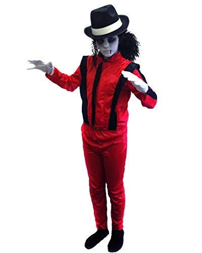 Child's Thriller Zombie Fancy Dress Costume in 4 Sizes.