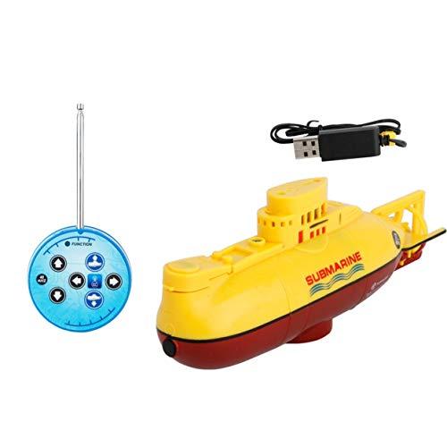 Tree-on-Life Mini sous-Marin RC Speedboat Modèle Haute Puissance RC sous-Marin Jouet en Plein Air avec La Télécommande