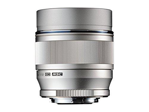 Olympus M.ZUIKO DIGITAL ED 75mm 1:1.8 Lens – Silver