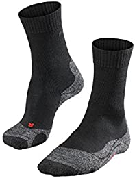 FALKE Herren TK2 Trekking Socken - Wollgemisch, 1 Paar, versch. Farben, Größe  39-48 - hohe Feuchtigkeitsaufnahme, schützt vor Kälte, leichte Polster