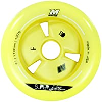 Matter 205077 Matter - Rueda (110 mm), color amarillo, pack de 8