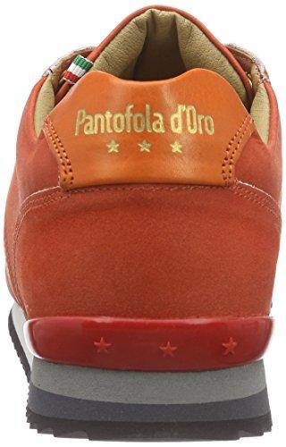 Pantofola d'Oro Teramo Vintage, Baskets Basses homme Orange - Orange (ORANGE.COM)