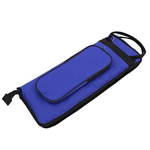 Et Bürste, Holzstäbchen (Drumstick-Tasche, Hochwertige 600D Black Oxford-Tasche Zylinderförmige Tasche - Wasserdichtes und langlebiges Großkaliber Mit Schultergurt und Tasche)