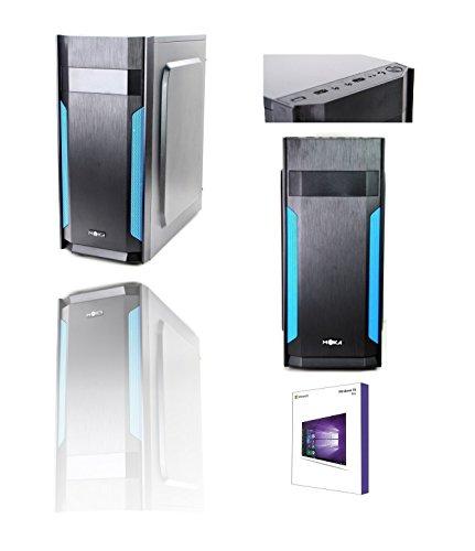 PC DESKTOP INTEL QUAD CORE LICENZA WINDOWS 10 PROFESSIONAL 64 BIT CASE ATX /RAM 8GB/HD 1TB/WIFI/INGRESSI HDMI DVI VGA 500W COMPLETO PRONTO ALL'USO VELOCE USO UFFICIO CASA INTERNET SOCIAL NETWORK
