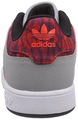 adidas Originals Varial Herren Skateboardschuhe Grau (Mgh Solid Grey/Core Black/Solar Red) XxIy8Ua