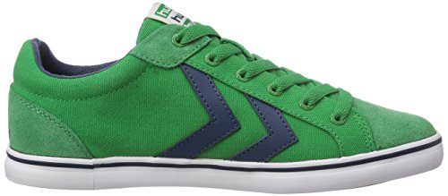 hummel DEUCE COURT SUMMER Unisex-Erwachsene Sneakers Grün (Fern Green 6029)