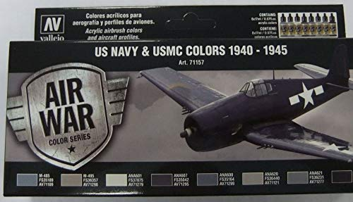 Vallejo WWII USN Aircraft Model Air Paint, 17ml