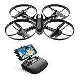 Potensic Drone avec Caméra HD et Télécommande RC Quadcopter WiFi FPV 2.4Ghz 6-axe...