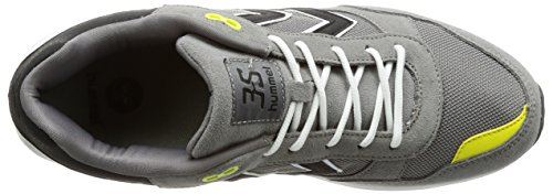 Hummel 3s Sport, Sneakers Basses Mixte Adulte Gris (Silver)