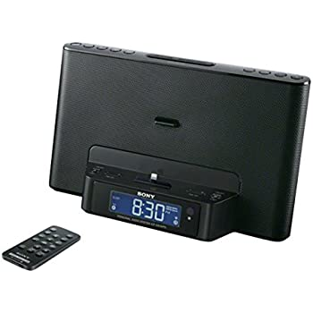 sony icf ds15ipbn dockingstation mit uhrenradio elektronik. Black Bedroom Furniture Sets. Home Design Ideas