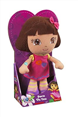 Dora la Exploradora - Peluche Dora, juguete para bebé (Mattel Y1430) de Mattel