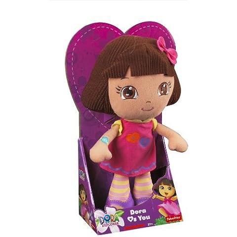 Dora la Exploradora - Peluche Dora, juguete para bebé (Mattel Y1430)