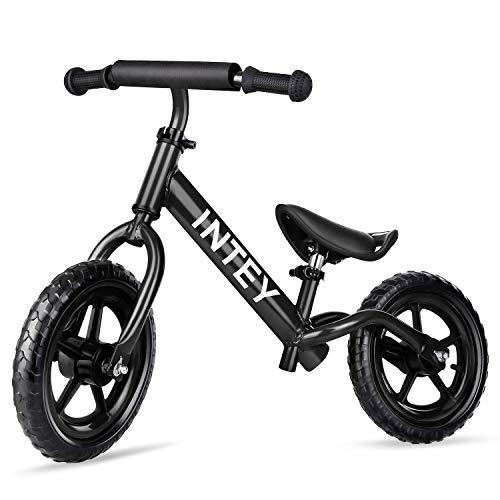 INTEY Draisienne Draisienne Vélo pour Enfant, 12 Pouces sans pédale pour Enfants Agés de 2 à 7...