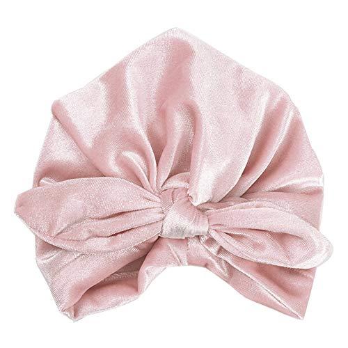 CCIKun 9 Farben Baby Mütze Kinder Baby Mädchen Boho Hasenohren Hut Indischer Hut Beanie Schal Turban Kopf Wrap (Einfach Niedlich Indischen Kostüm)