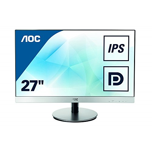 AOC 27 inch IPS Monitor, indicate Port, 2 x HDMI, VGA, MHL, Speakers, Vesa I2769VM UK