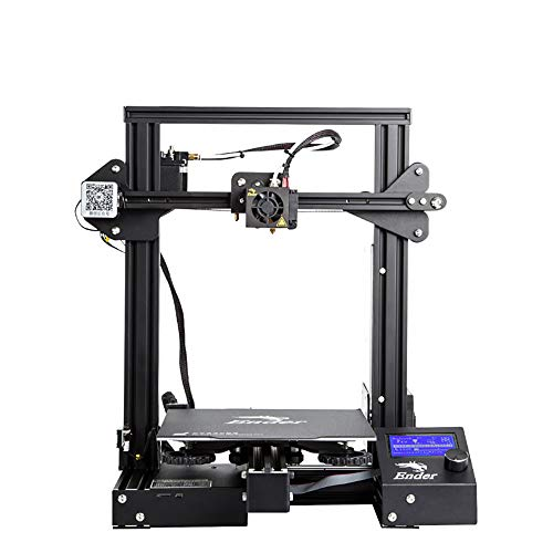 MXL Ender 3 Pro 3D-Drucker mit Upgrade für Cmagnet-Matte und Meanwell-Netzteil