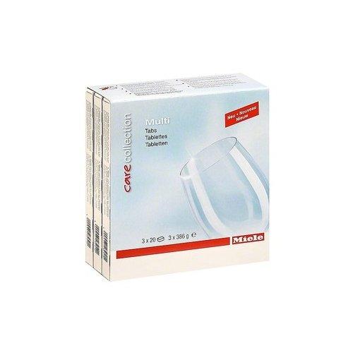 Miele GSA Geschirrspülerzubehör / Multitabs für beste Reinigungsergebnisse / kein Auspacken dank wasserlöslicher Folie 3er Pck