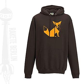 Kapuzenpulli/Hoodie 'Fuchs Origami'