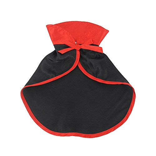 swyivy Halloween Pet Kostüme Cute Cosplay Vampir Umhang Cape für kleine Hunde (Cute Up Dress Ideen)