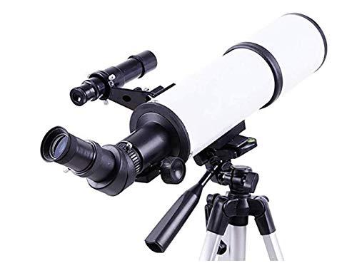 CZZ Telescopio 400 / 80Mm Espacio Refractario Astronómico