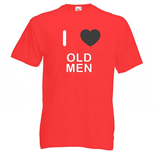 I Love Old Men - T-Shirt Rot