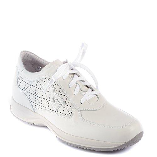 Nero Giardini Sneaker Donna in Pelle, Primavera/Estate P615124D-707 Dream Bianco