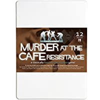 Murder at the Cafe Resistance 12-Player Murder Mystery Dinner Party Game