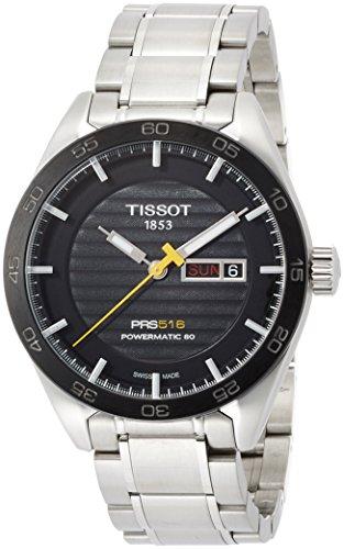 Tissot Herren-Uhren Analog Automatik One Size Edelstahl 86963213