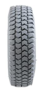 Grey Pneumatic Innova Block Tread Mobility Scooter Tyres 260 x 85/3.00-4