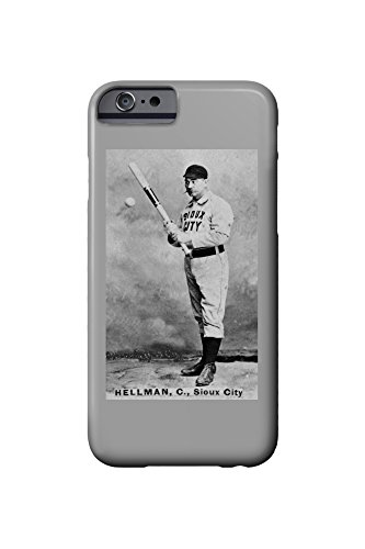sioux-city-minor-league-tony-hellman-baseball-card-iphone-6-cell-phone-case-slim-barely-there