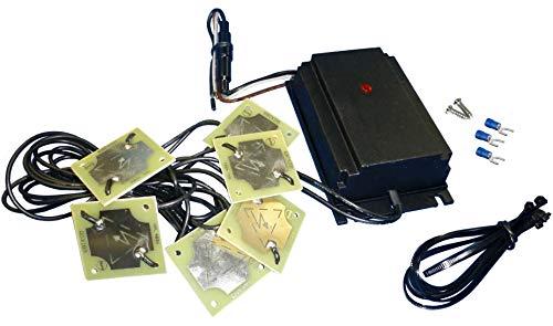 ISOTRONIC 3in1 Marderabwehr Marder-Frei für Auto KFZ Anschluß Autobatterie 12V Marderschock Marderscheuche Marderfrei Marderschutz mit Hochspannung und Hochfrequenz Töne Ultraschall