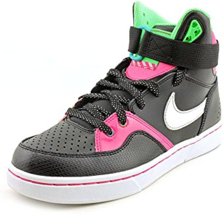 low priced 077e1 73aea la cour tranxition baskets nike - - - chaussures de cuir noir taille 3,5