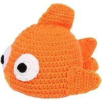 DELEY Unisex Bebé de dibujos animados de peces de colores Crochet Sombrero  de Bebé Ropa de e77813ba285