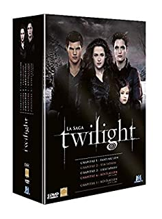Twilight, La Saga - L'intégrale des 5 Films - Coffret DVD (B00AJO6CCC)   Amazon Products