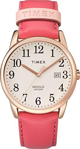 Timex Mixte Adulte Analogique Automatique Montre avec Bracelet en Cuir TW2R62500