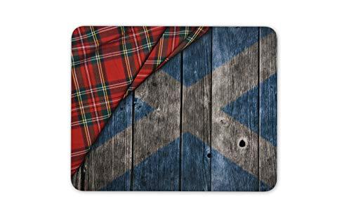 Scottish Painted Barrel Flaggen-Weinlese-Stolz Mauspad Pad - Computer-Geschenk # 16370