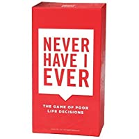 Never Have I Ever -The Game of Poor Life Decisions Card Game