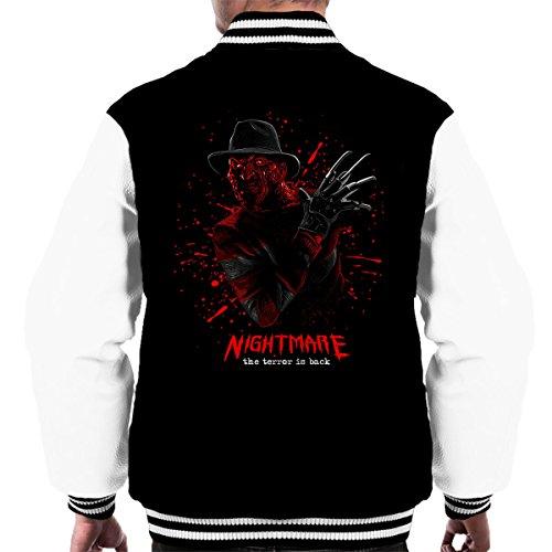 Nightmare Freddy Krueger Men's Varsity Jacket