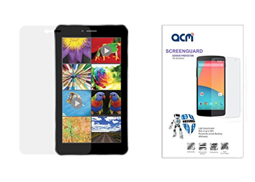 Acm Clear Screenguard For Iball Slide 3g Q45 Tablet Screen Guard Scratch Protector  available at amazon for Rs.199