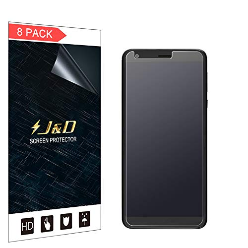 J und D Kompatibel für 8er Packung Sharp AQUOS B10 Bildschirmschutzfolie, [Antireflektierend] [Nicht Ganze Deckung] Matte Folie Schutzschild Bildschirmschutzfolie für Sharp AQUOS B10 - [Nicht für AQUOS C10]